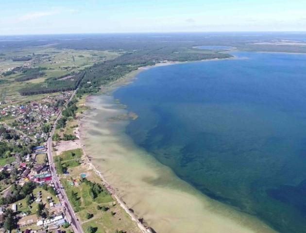 Шацькі озера з висоти пташиного польоту. ВІДЕО
