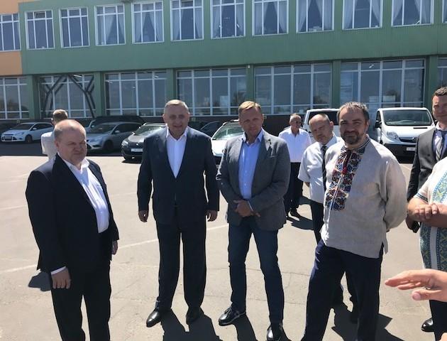 Як народні депутати Волинську митницю хвалили та з бізнесом говорили. ВІДЕО