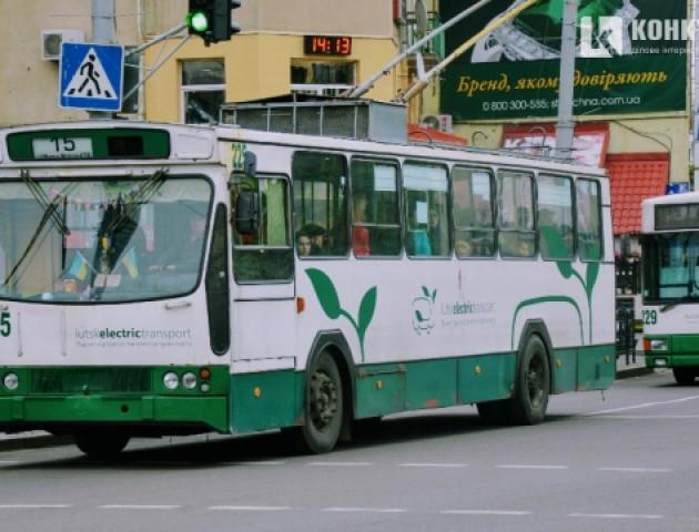 Порахують пасажирів луцьких тролейбусів