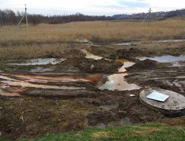 «Розлились отруйні озера», – у Брищі говорять про екологічну катастрофу