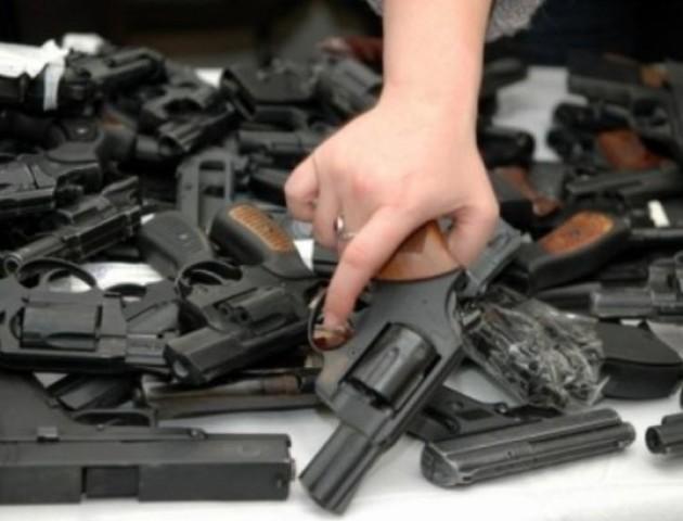 На Волині власники незаконної зброї можуть уникнути кримінальної відповідальності