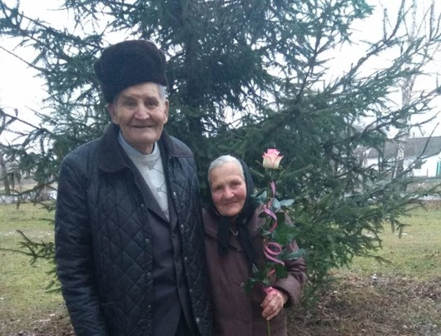 60 років у шлюбі: на Волині подружжя відзначило діамантове весілля