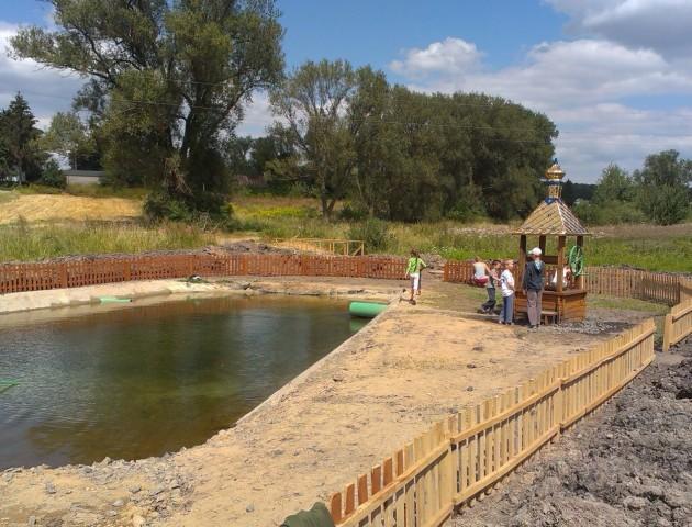 Неподалік Луцька створили озерце. ФОТО