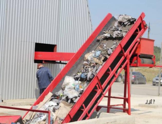 Пояснили, чому не працює сміттєсортувальна лінія в Брищі