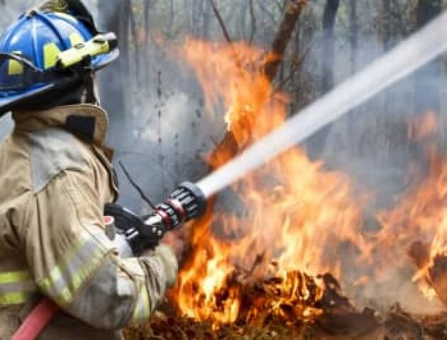 На Волині сталося три пожежі. Є постраждалий