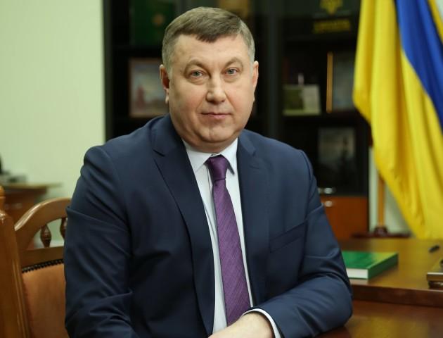 Депутат Волиньради Володимир Бондар вітає волинян з Днем Незалежності