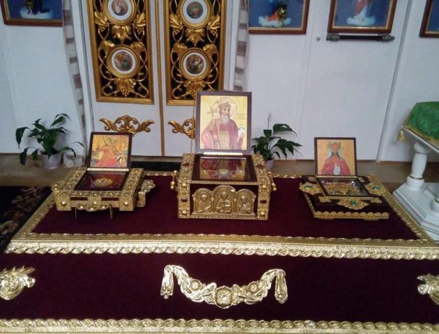 У церкву на Волині привезли мощі князя Володимира