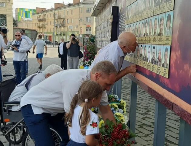 Батьки загиблих на Сході лучан отримали пам'ятні медалі. ФОТО