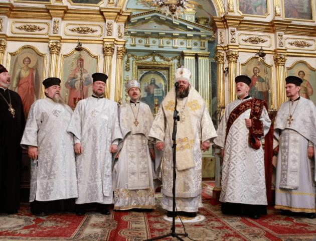 У соборі Луцька вперше служать Різдвяну літургію