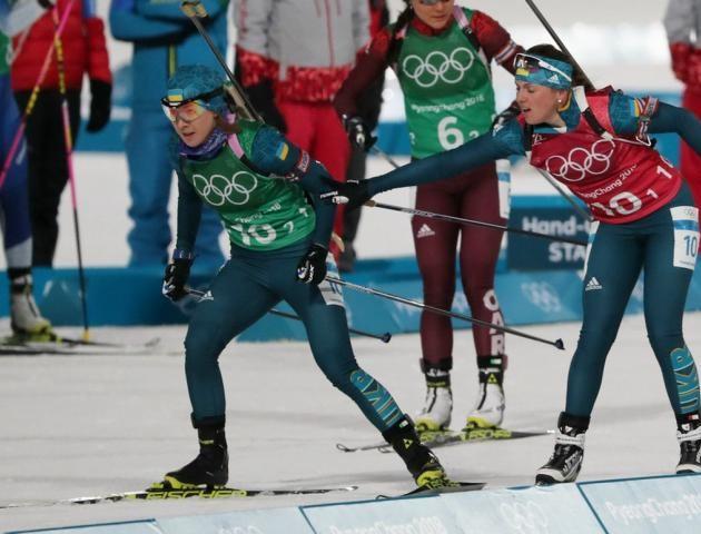 Визначився склад збірної України в жіночій естафеті з біатлону на Олімпіаді