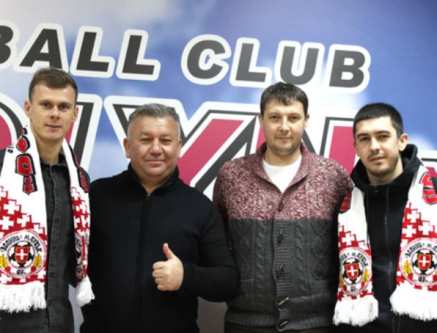 У ФК «Волинь» - двоє нових футболістів