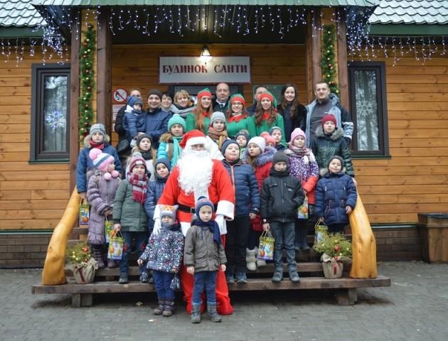 Дідусь Санта з Фінляндії переселився на Волинь