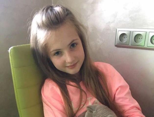 У Луцьку збирають гроші для 11-річної онкохворої Аріни Самчук