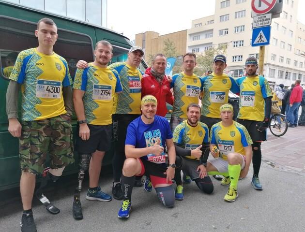 Лучанин взяв участь у Міжнародному марафоні миру