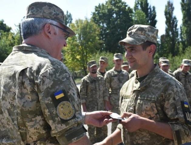 Бійців волинської чотирнадцятої бригади нагородили на лінії фронту