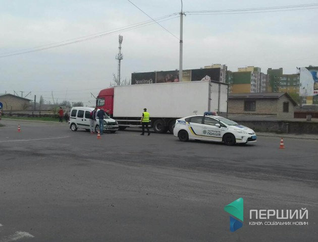 Відомо деталі ранкової аварії у Луцьку