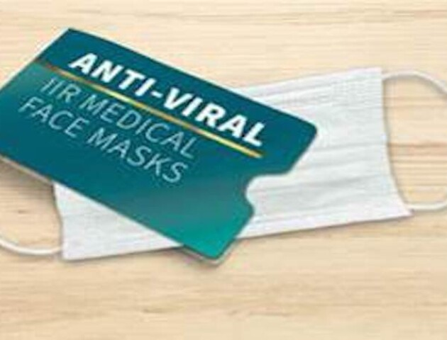 У Великобританії розробили маску, що вбиває 99,9% вірусу Covid-19 протягом 5-ти хвилин