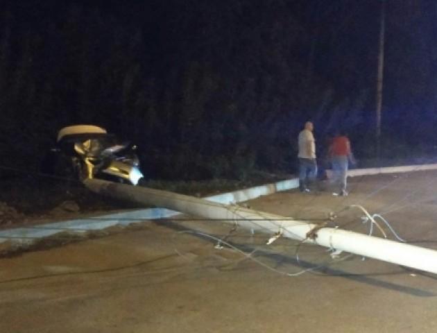 У Луцьку через ДТП жителі кількох вулиць залишились без світла