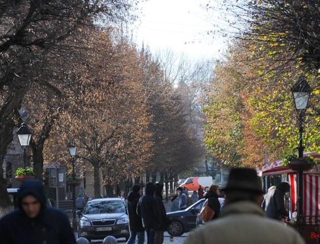 Листопад у Луцьку на атмосферних світлинах Віктора Чухрая. ФОТО