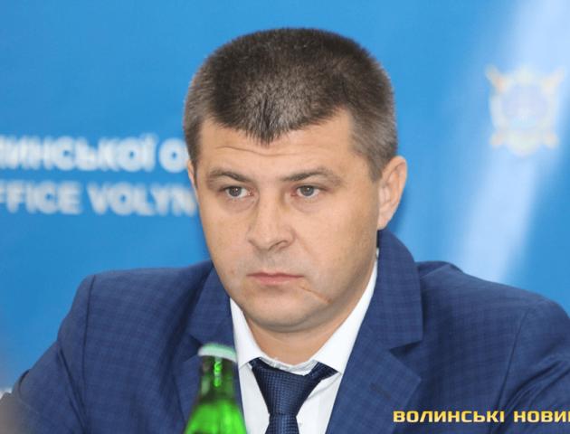Президент України присвоїв новий чин головному прокурору Волині Максиму Киричуку