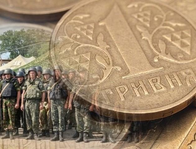 На Волині надходження військового збору зросли на 29,9 відсотка