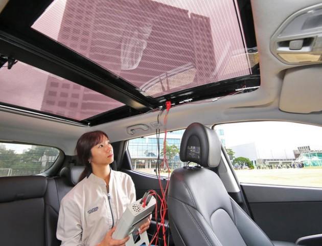 HyundaiтаKia випускатимуть автомобілі на сонячних батареях
