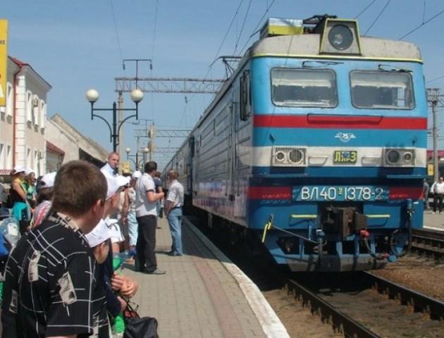 Поїзд з Ковеля до Ягодина їздитиме за новим графіком