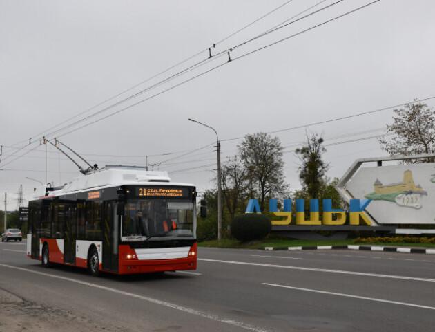 Собівартість проїзду у луцьких тролейбусах – 11 гривень