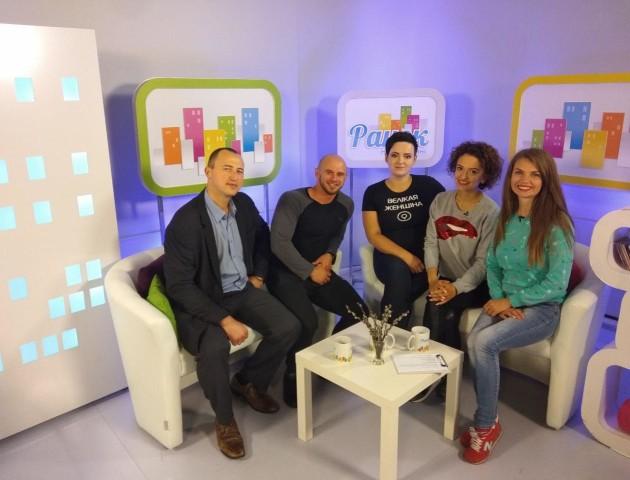 Учасники проекту БудуйТіло. Перезавантаження взяли участь у телешоу. ВІДЕО