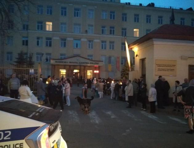 Поліція затримала мінера Волинської обласної лікарні. ФОТО. ВіДЕО