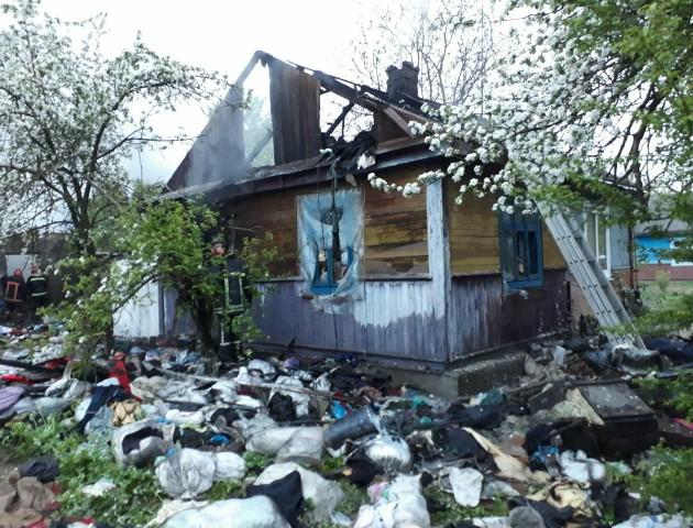 На Волині під час пожежі загинули три жінки. ФОТО