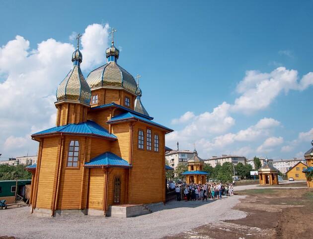 Духовний гімн України записали у «волинському» храмі на Донеччині