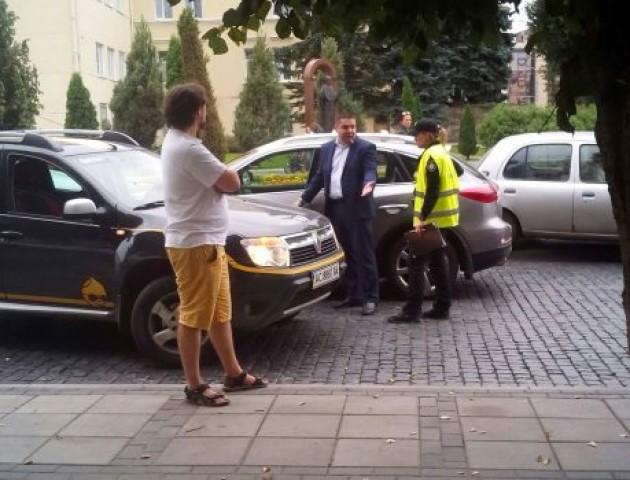 Заступник луцького міського голови потрапив у аварію. ФОТО