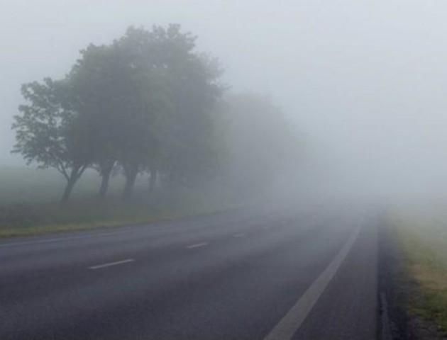 Волинь: водіїв попереджають про погану видимість на дорогах