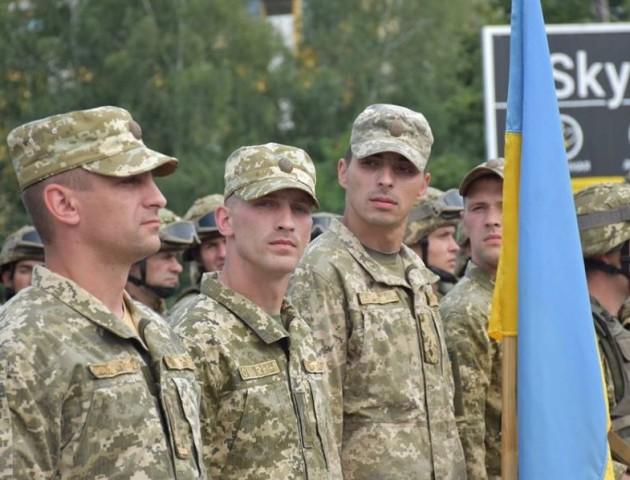 Волиняни з 14 бригади взяли участь в параді на Луганщині. ФОТО