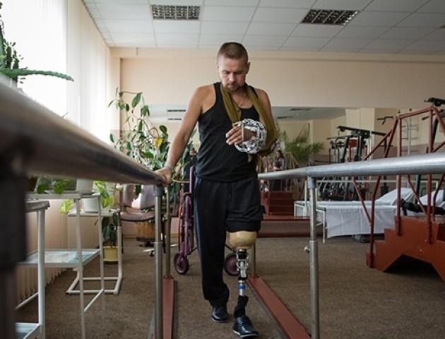 У Луцьку виділили кошти на Центр реабілітації воїнів АТО. ВІДЕО