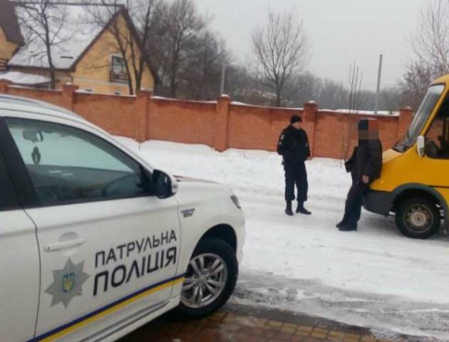 У Кіровоградській області затримали п'яного водія маршрутки