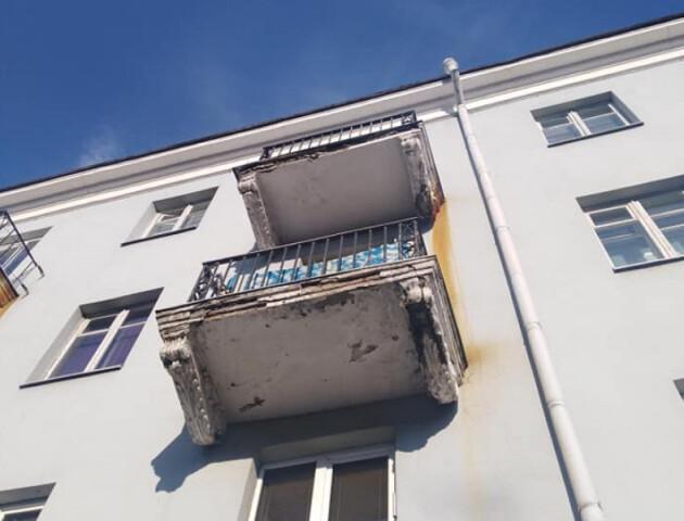 У Луцьку відремонтують старі балкони на проспекті Волі