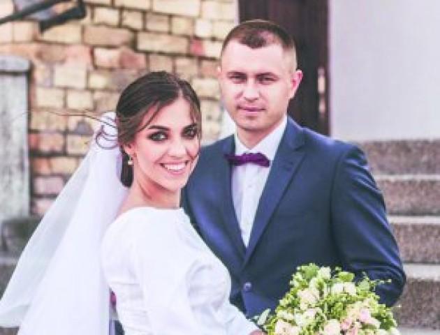 У Луцьку одружилися патрульні