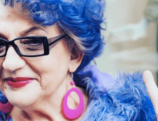Луцька бабуся-хіпстерка заробляє в Інстаграмі