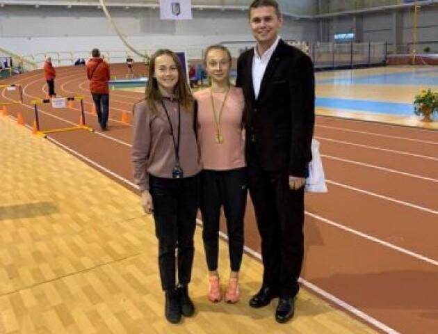 Волинська спортсменка встановила рекорд України