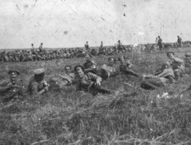 Російські солдати на Волині: показали столітні ретрофото