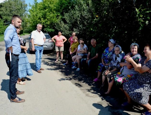 Народний депутат працював у селах Устилузької громади