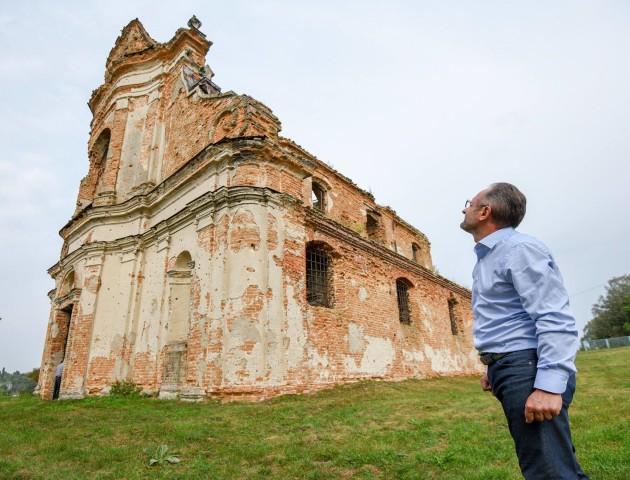 Безсмертний ініціює збереження унікального монастиря на Волині