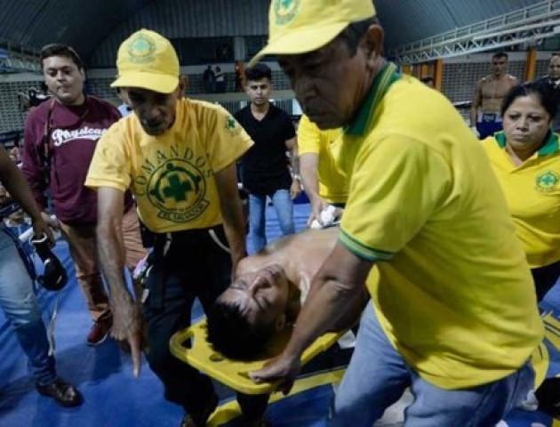 Сальвадорський боксер помер після нокауту