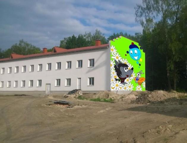 Капітошка з Вовчиком: у дитсадочку на Волині намалюють величезне графіті