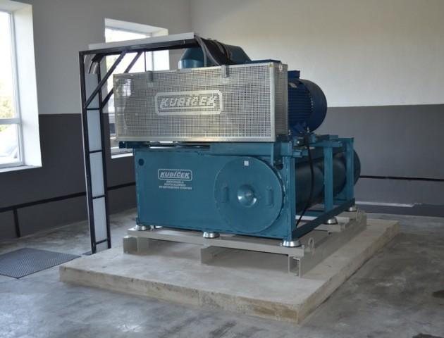 У Ковелі на очисних спорудах водоканалу встановили нове сучасне обладнання. ФОТО