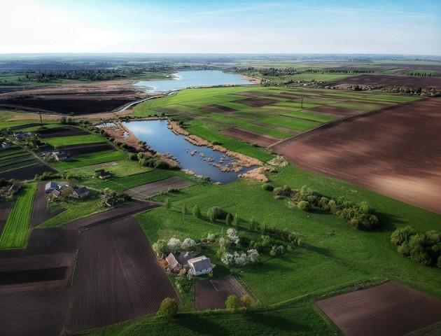 Лучанин показав неймовірні світлини Волині, зроблені з дрона. ФОТО