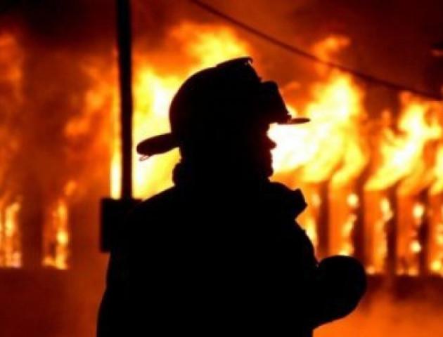 У Рожищі спалахнув житловий будинок