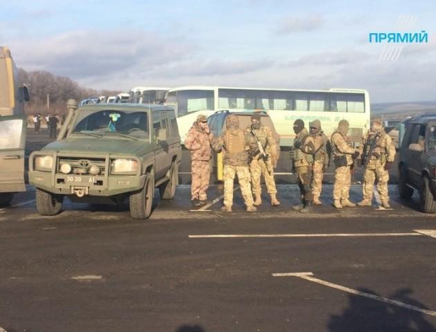 З'явилися перші фото з обміну полоненими на Донбасі